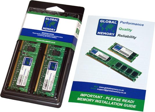 4GB 2x2GB Memory PC2-5300 ECC UB MSI E Series E7230 Master-FA4R NOT FOR PC New