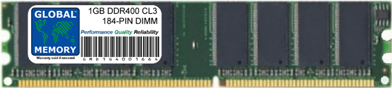 1GB DDR 400MHz PC3200 184-PIN DIMM MEMORY RAM FOR COMPAQ DESKTOPS