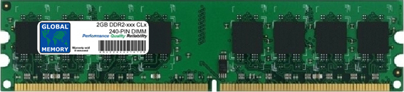 2GB DDR2 400/533/667/800MHz 240-PIN DIMM MEMORY RAM FOR PACKARD BELL DESKTOPS